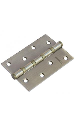 Петля Morelli стальная с 4-мя подшипниками MS 100X70X2.5-4BB AB