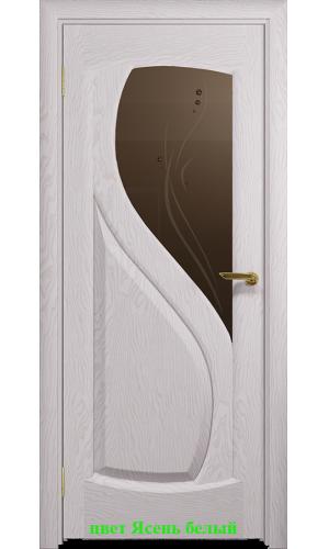 Дверь Диона-1 стекло бронзовое Капля ДО DioDoor