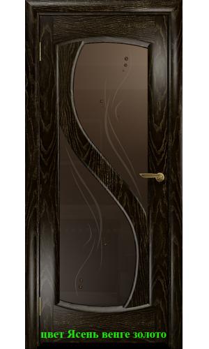 Диона-2 стекло бронзовое Капля ДО DioDoor