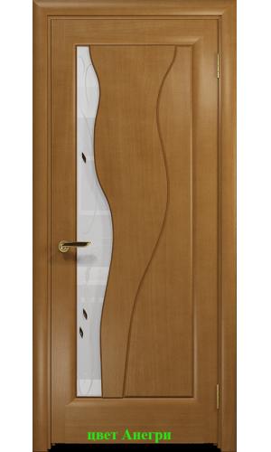 Дверь Энжел стекло белое Лилия ДО DioDoor