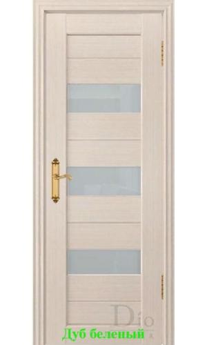 Дверь Техно-3 триплекс белый ДО DioDoor