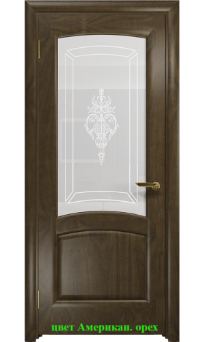 Дверь Ровере стекло белое Верано ДО DioDoor