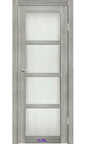 Дверь Трио стекло Сатин белый ДО Synergy