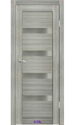 Дверь Адажио стекло Сатин белый ДО Synergy
