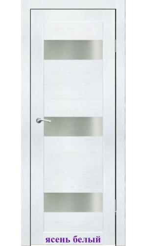Дверь Соната стекло Сатин белый ДО Synergy