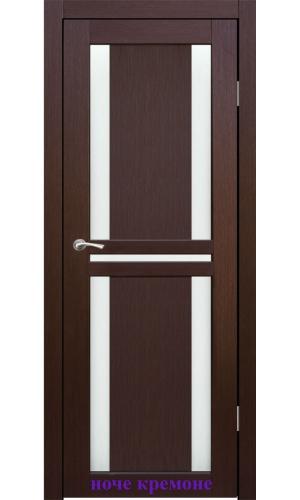 Дверь Мадена стекло Сатин белый ДО Synergy