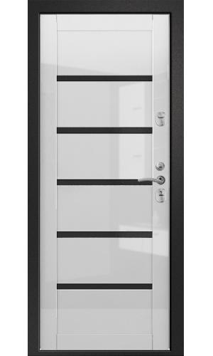 """Дверь Медея-321 (М1) """"Вена"""" (белый глянец) Ретвизан"""