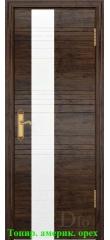 Дверь Лайн-3 лакобель белый ДО DioDoor