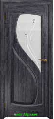 Диона-1 стекло белое Капля ДО DioDoor