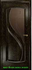 Диона-1 стекло бронзовое Капля ДО DioDoor