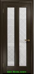 Дверь Тесей стекло Решетка  ДО DioDoor