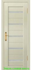 Дверь Техно-1 триплекс белый ДО DioDoor