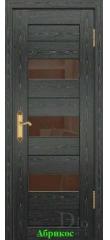 Дверь Техно-3 триплекс бронза ДО DioDoor
