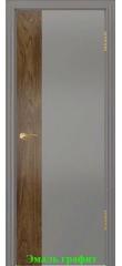 Дверь Принт-1 американский орех  ДГ DioDoor