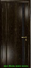 Триумф-1 триплекс черный с тканью ДО DioDoor