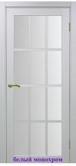 Дверь 542 стекло Мателюкс ДО Optima Porte