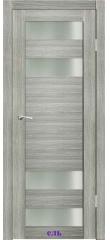 Дверь Вега стекло Сатин белый ДО Synergy