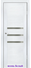 Дверь Грация стекло Сатин белый ДО Synergy