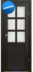 Дверь Верона 1 стекло Сатин белый ДО Synergy