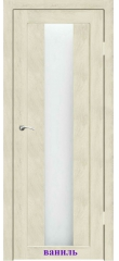 Дверь Капелла стекло Сатин белый ДО Synergy