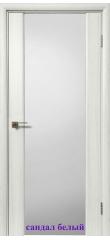 Дверь 981 стекло Триплекс белый ДО ДЕРА